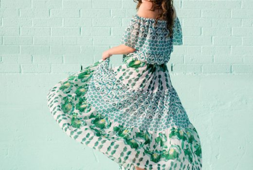 temperley london, floral off the shoulder maxi dress, temperley maxi dress, houston fashion blogger