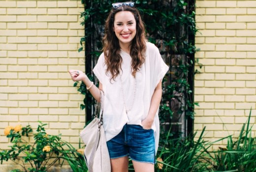 licille sandal, abejas boutique houston, houston blogger, houston fashion blogger, citizen of humanity denim shorts review, how to accessorize a casual outfit, best accessorizing tips
