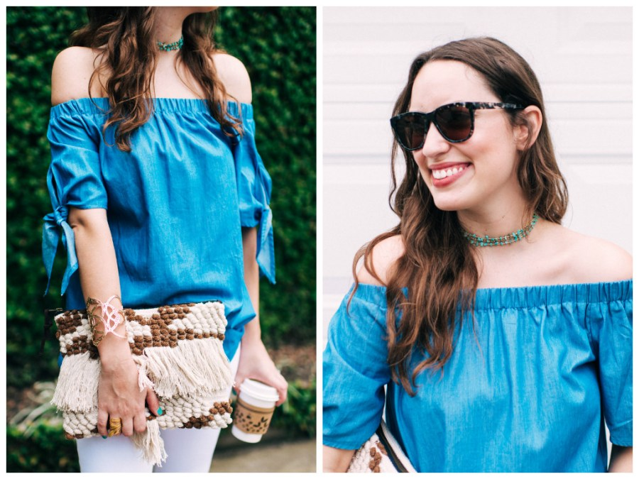 Blue_Off_the_Shoulder_Top_Hemline