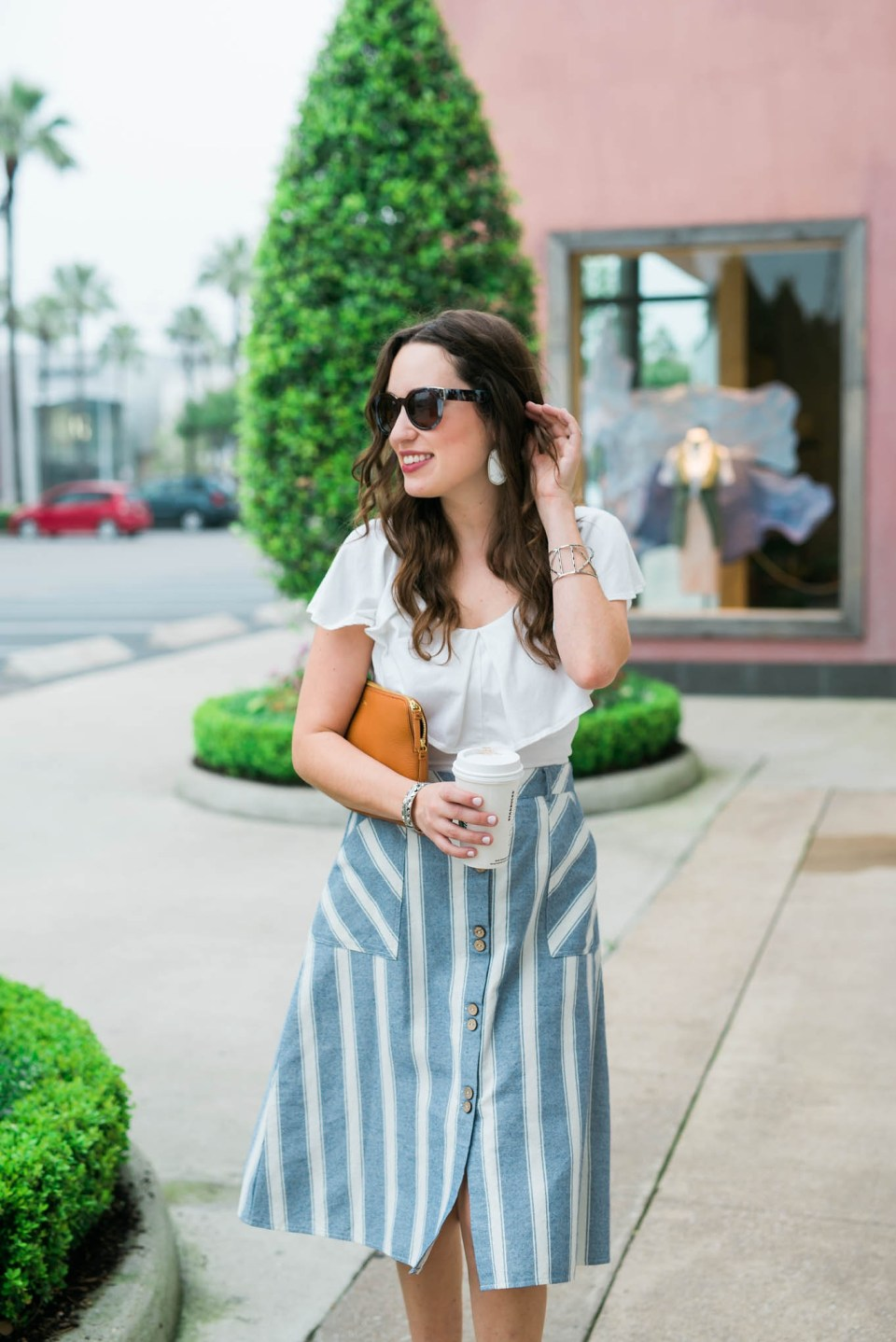 Striped_Midi_Skirt_Off_the_Shoulder_Top2