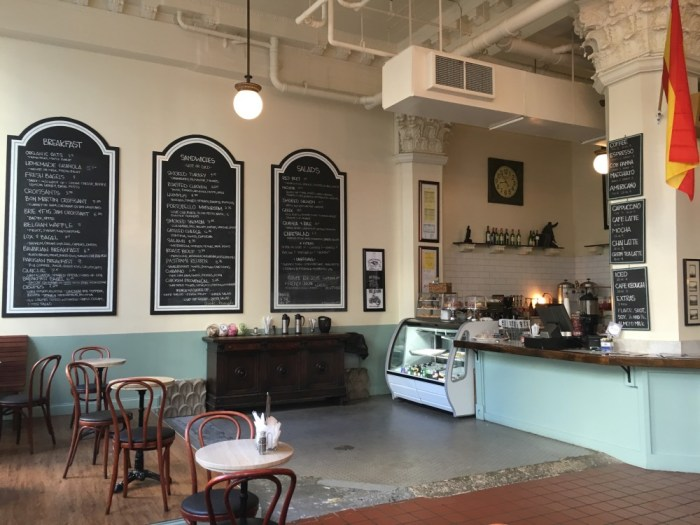 Cafe Keough, one of the best breakfast spots in downtown Memphis.