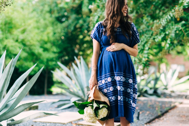 Sharing Mikoleon's Mommy & Me Style with the Artisanal Laguna House Dress in Azul