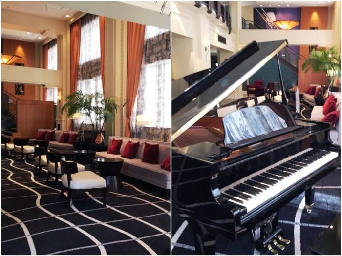 Madison Hotel Lobby in Memphis, TN