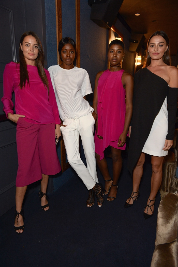 NEW YORK, NY - AUGUST 11: Models pose at the Ego Soleil Fashion Label Launch of SS17 Fashion Collection in New York City on August 11, 2016 in New York City. (Photo by Andrew Toth/Getty Images for Ego Soleil