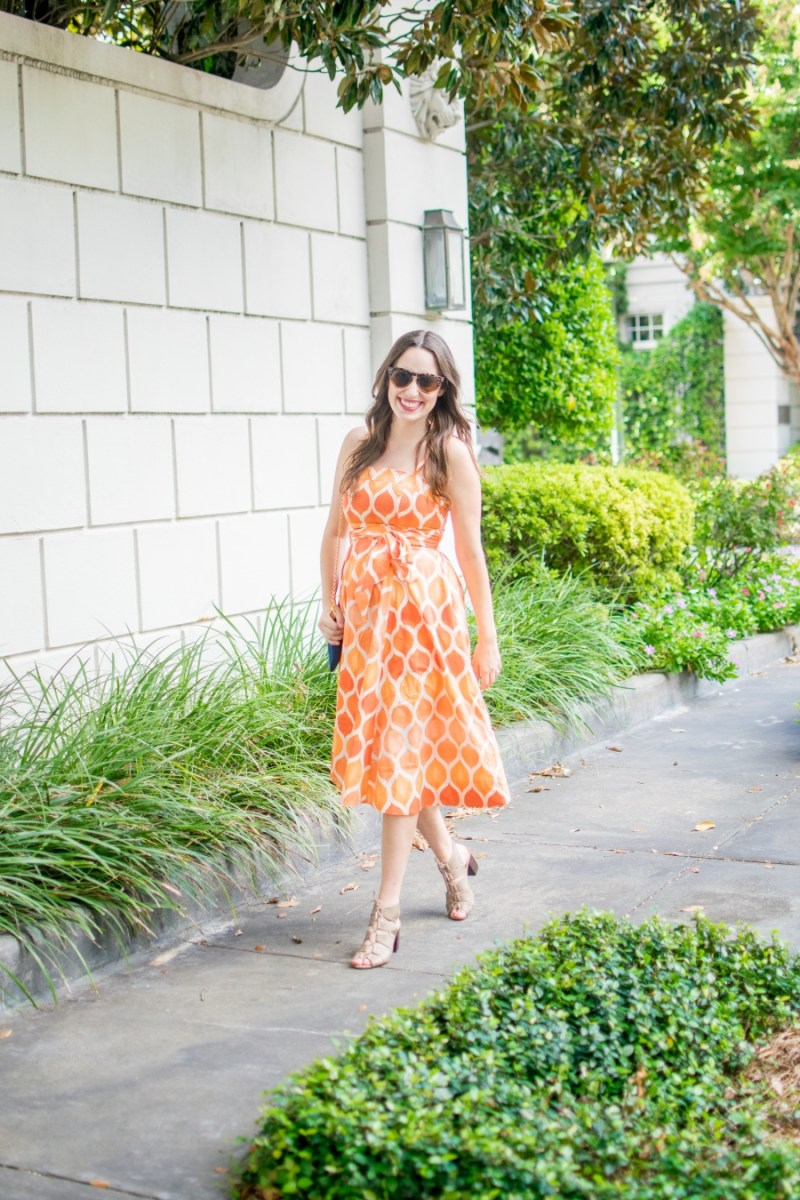 Tennessee orange outfit inspiration for gameday in The South.
