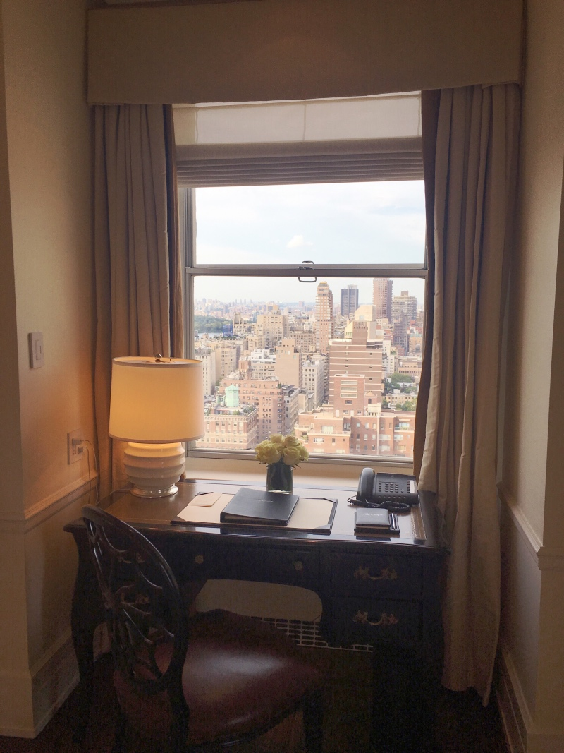A guestroom review of The Carlyle in New York City.