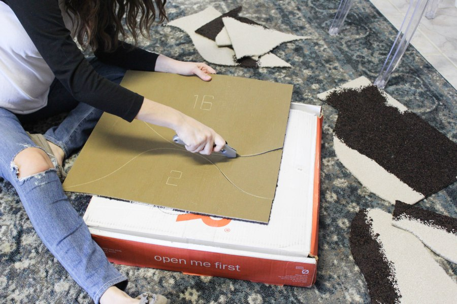How to DIY a Cowhide Rug with FLOR
