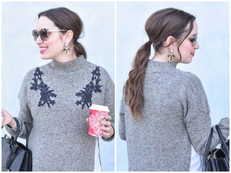 Houston blogger shares tips on how to style a Bridget Bardot ponytail.