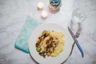 Houston food blogger shares a review of Hello Fresh and a recipe for Winner Winner Chicken Orzo Dinner.