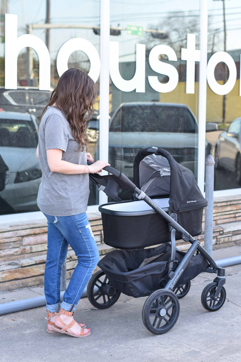 Mom Style and an Uppa Baby Stroller Review