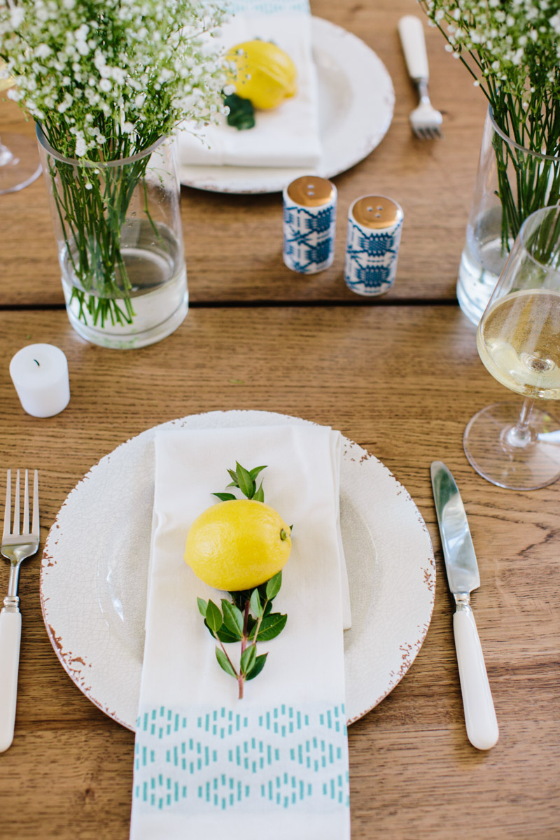 Indoor summer tablesetting tips and ideas with Rueda Verdejo Wine
