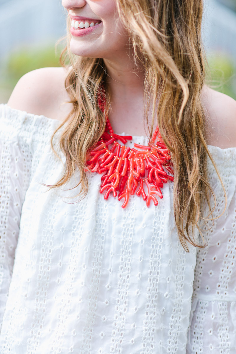 Baublebar Coral Statement Necklace