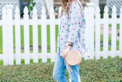 Houston fashion blogger shares laid back weekend style on Lone Star Looking Glass.
