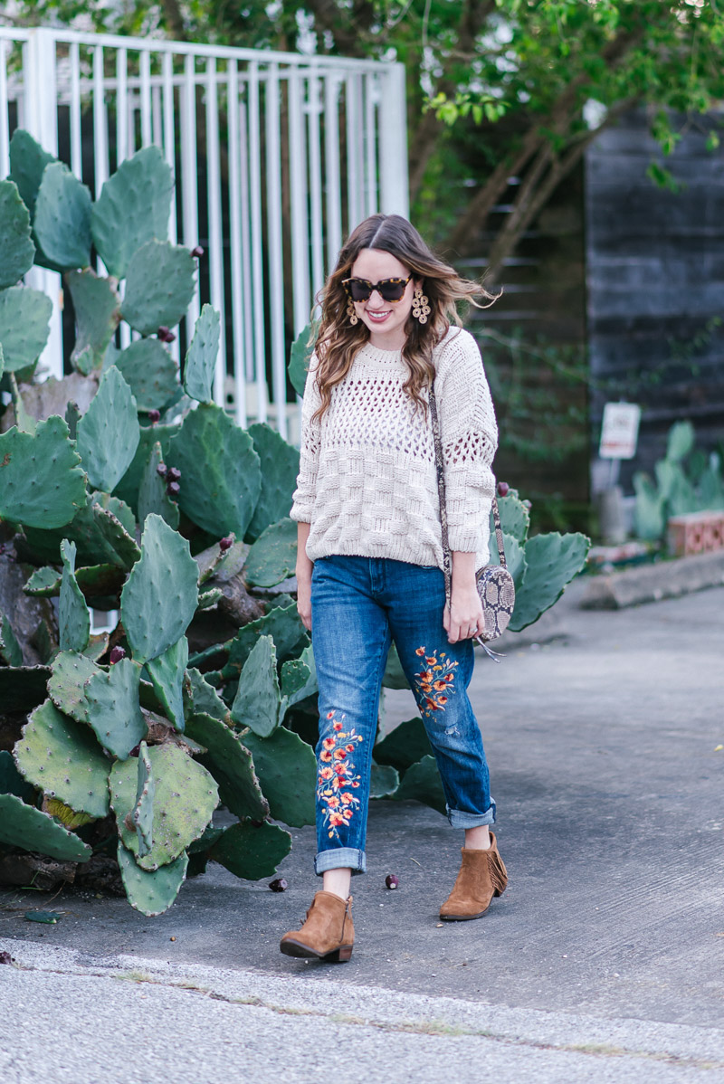 Texas-based fashion and travel blogger shares fall outfit inspiration.