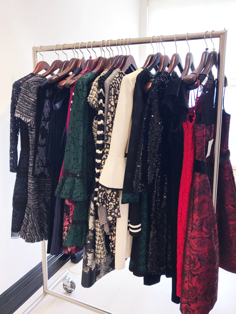 Eliza J Dresses holiday and fall collection 2017.