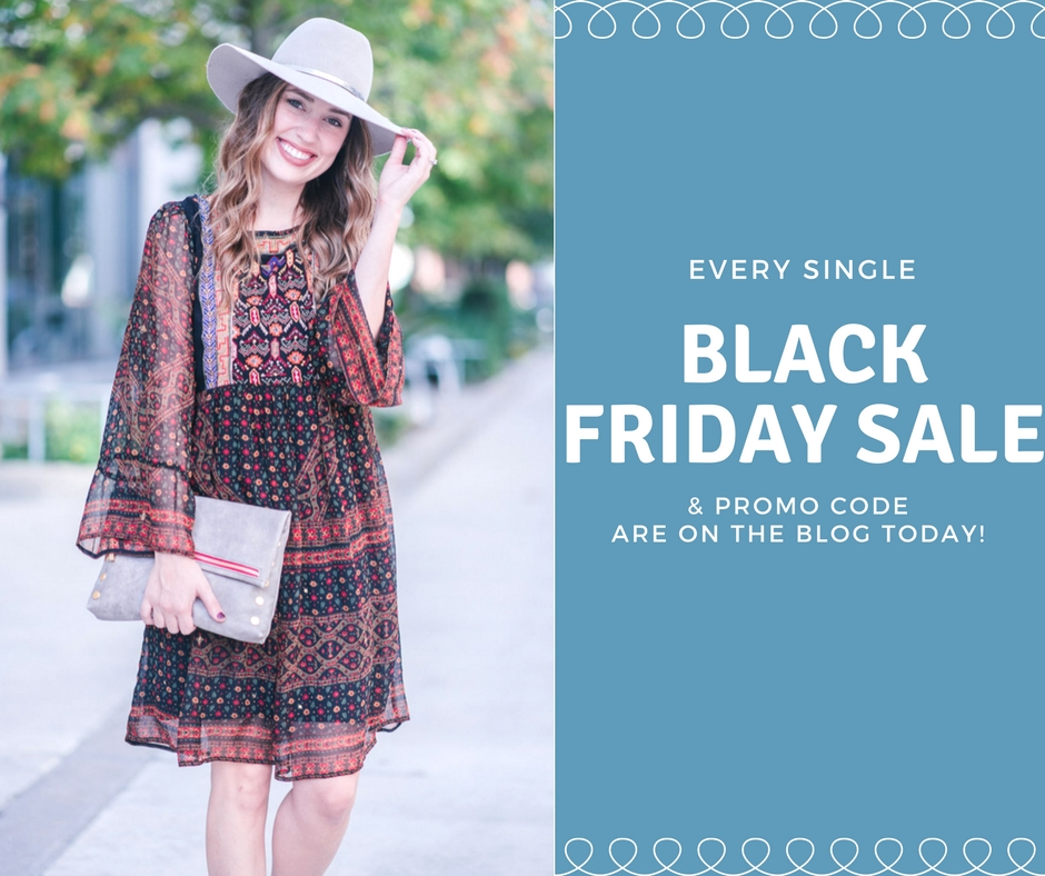 A Boho Embroidered Dress + ALL the Black Friday Deals!