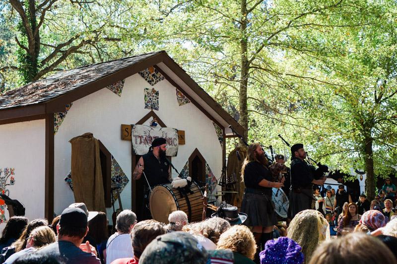 Tartanic at the Texas Renaissance Festival