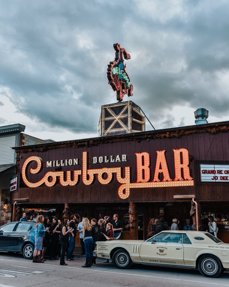 Jackson, Wyoming Travel Guide: Million Dollar Cowboy Bar