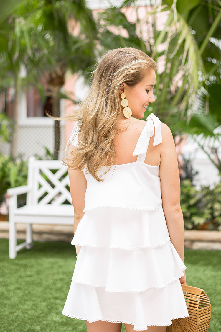 shopbop sale, wayf ruffle dress
