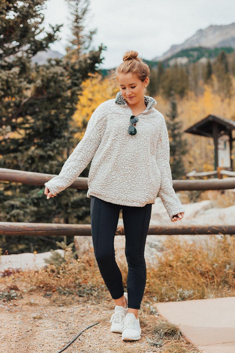 wubby fleece pullover