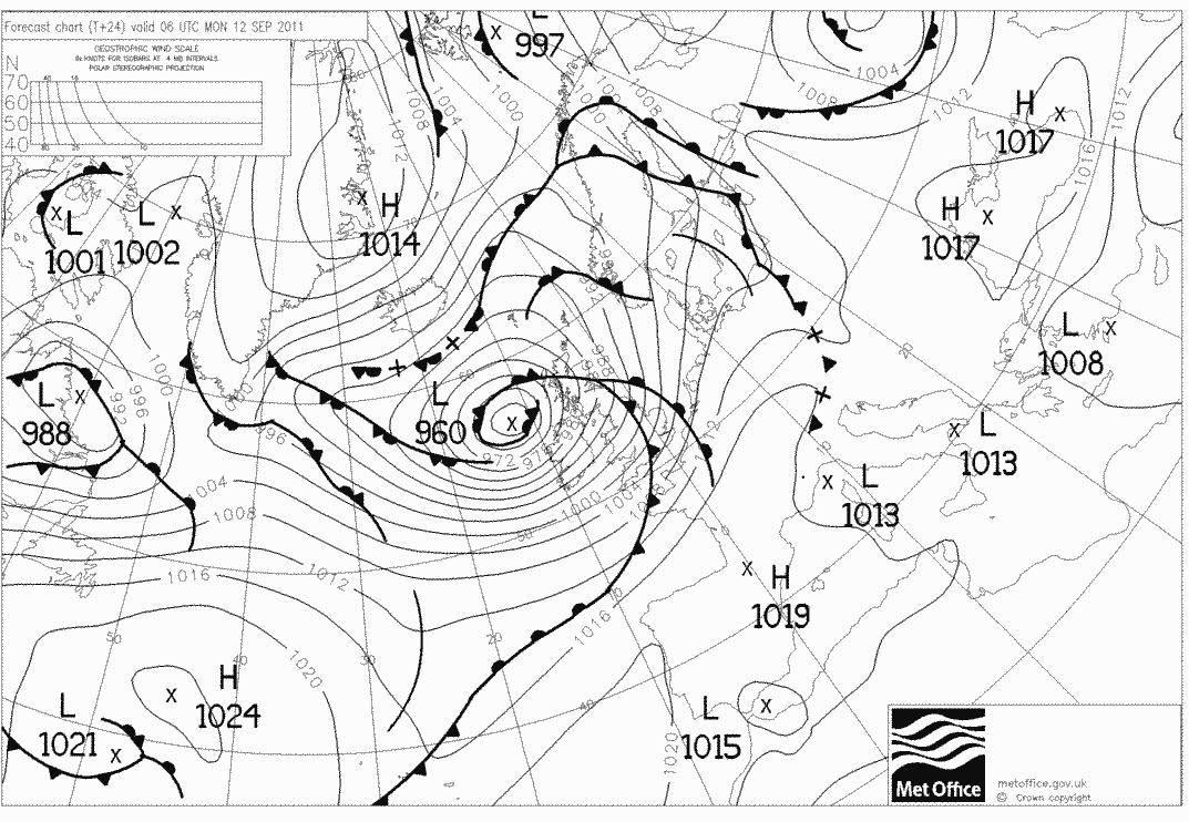 How To: Pressure (synoptic) weather charts explored