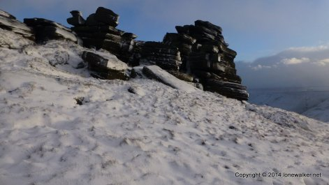 Pym Chair, on the edge of Kinder Scout