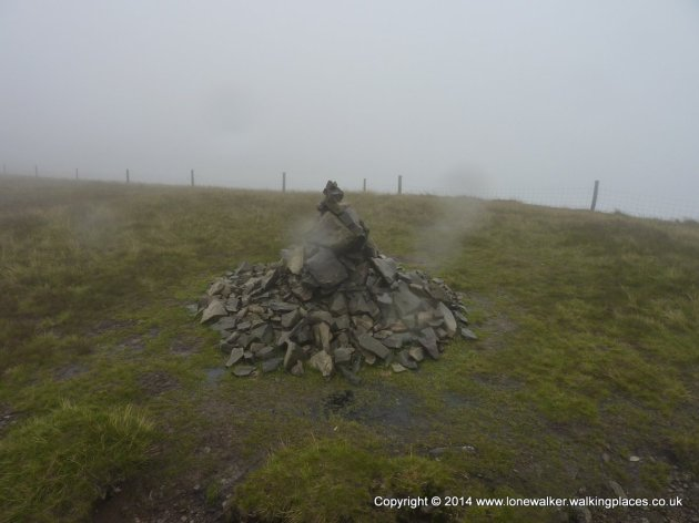 Calders summit cairn