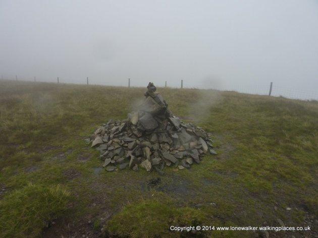 Calders summit cairn