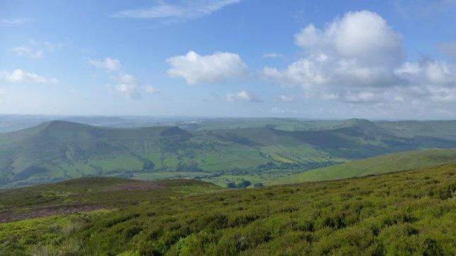 Views across to the Great Ridge