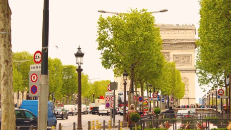 Champs-Élysées, Paris, France
