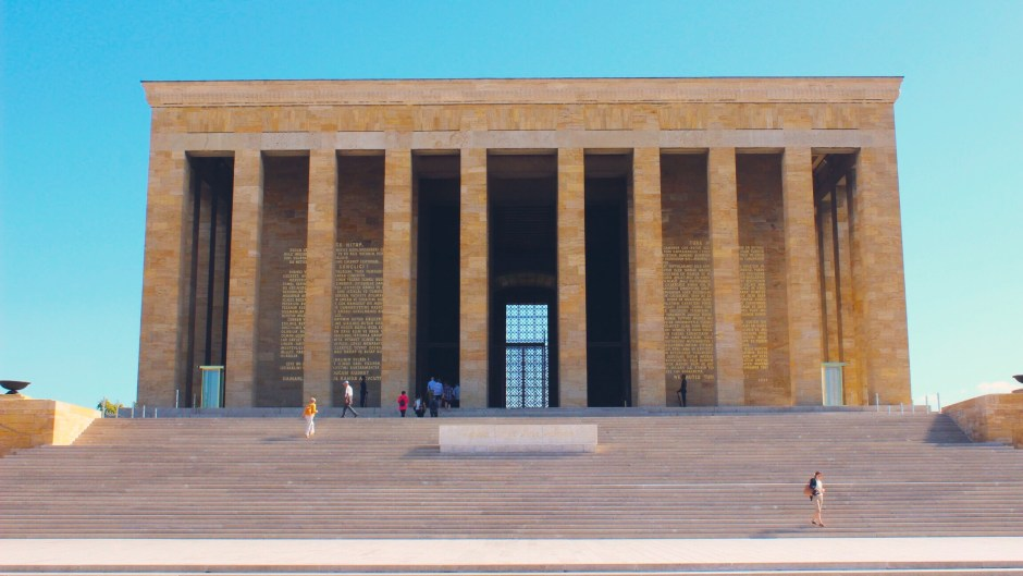 The Mausoleum of Atatürk, Ankara, Turkey