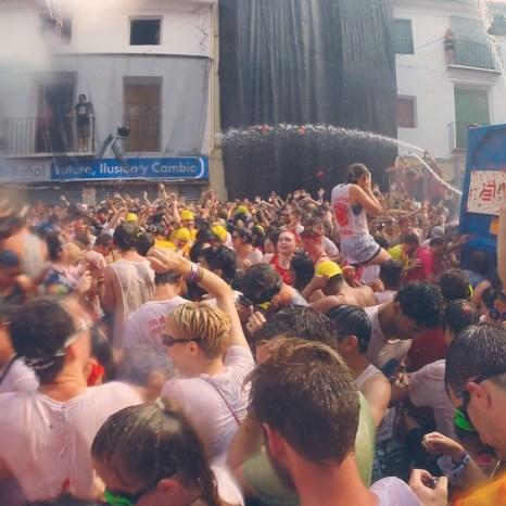 Busabout La Tomatina Festival, Buñol, Spain