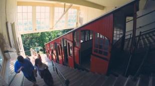 Funicular, San Sebastian, Spain
