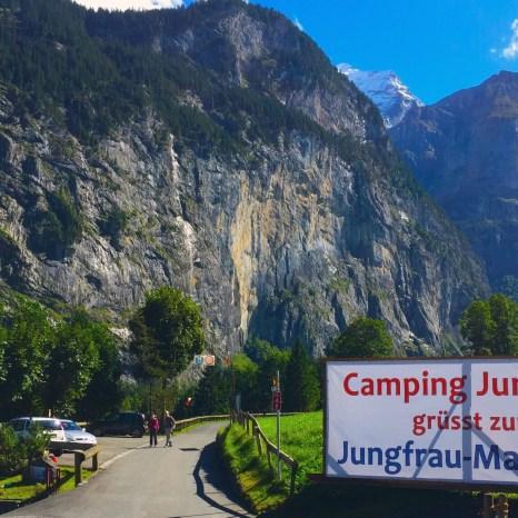 Camping Jungfrau, Lauterbrunnen, Switzerland
