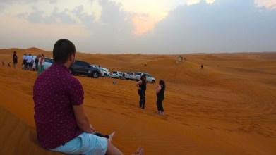 Dune Bashing, Dubai, United Arab Emirates