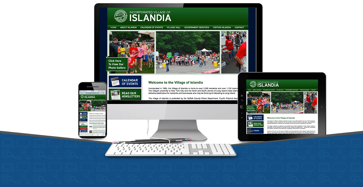 government politics website designs
