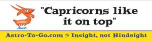 Capricorn-bumper-sticker