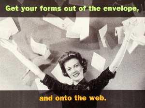 Onto the web