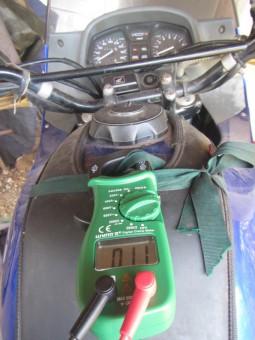 Transalp voltmeter