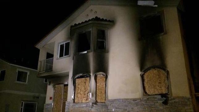 long beach house fire 111314