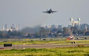 long beah airport f18 takeoff
