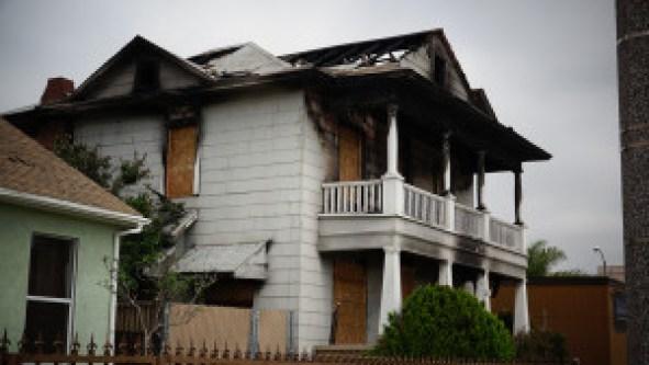 2nd alarm house fire 1400 atlantic ave