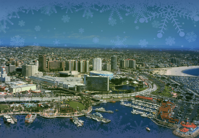 christmas-background long beach