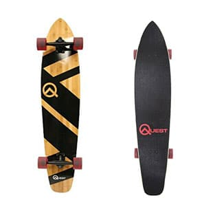 The Quest Super Cruiser Longboard Skateboard