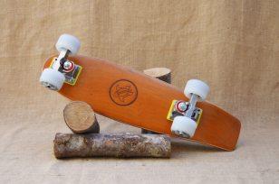 Hurtle Skateboards One Off Orange