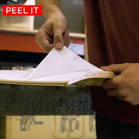 Rayne Longboards Chop Shop Peel It