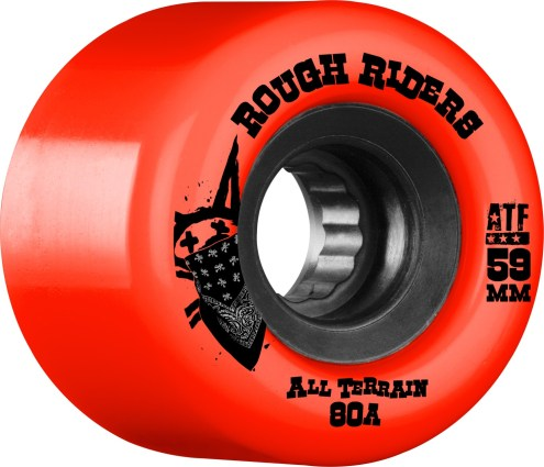 Bones Rough Riders 59MM Red