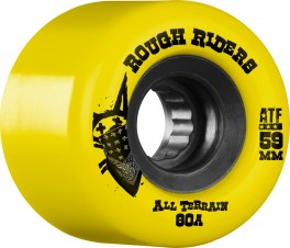Bones Rough Riders 59MM Yellow