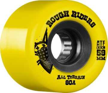 Bones Rough Riders 59MM Yellow