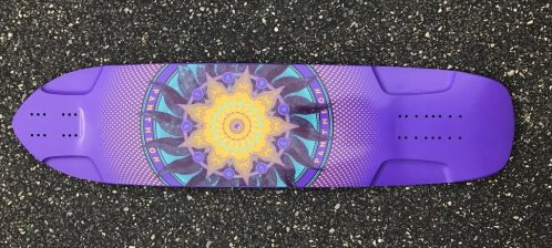 Pantheon Longbaords Sage Purple Trip Belly